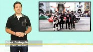 Hollywood Formula Drift, Rhys Millen Hyundai Gensis PM580, Mercedes Shooting Brake Concept