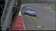 Keselowski's Tire Explodes