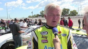 2010 ARCA Kansas - Kimmel Interview