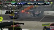 Yellow Flag After Dual Crash - Martinsville Speedway 2011