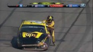 Ragan Blows A Tire - Phoenix International Raceway 2011