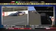 Burton Turned Into Wall - Martinsville Speedway 2011