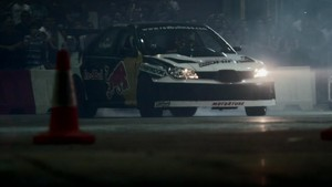 Red Bull Car Park Drift Lebanon 2011