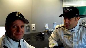 Indycar 2012 - Barrichello Interview