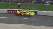 Dave Blaney's Wreck - Goody's Fast Pain Relief 500 - Martinsville - 2012