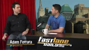 Adam Ferrara From Top Gear US on Fast Lane Daily!