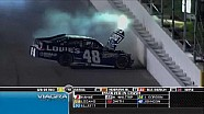 Huge Crash on Turn 4 - Daytona - 07/07/2012