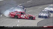 Jimmie Johnson Spins Montoya - Martinsville - 10/28/2012