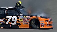 Harraka on fire at Auto Club Speedway!!