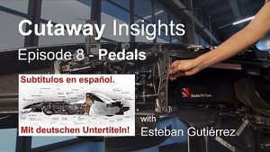 Cutaway Insights - Episode 8: Pedals - Sauber F1 Team
