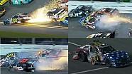NASCAR Travis Pastrana  HUGE WRECK | Subway Firecracker 250, Daytona International Speedway