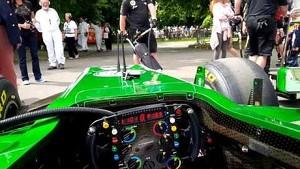 Goodwood Festival of Speed - Caterham F1 & Alexander Rossi first hillclimb prep