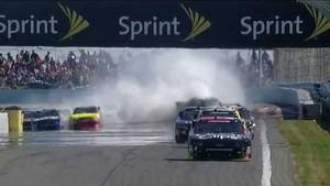 NASCAR Austin Dillon avoids spinning Ranger | Watkins Glen (2013)