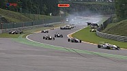 European F3 Open 2013 - Spa - Safety Car Chaos & Red Flag