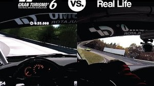 GT6 vs Real-Life: Nürburgring Nordschleife, GT86 Race car, VLN.