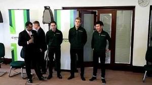 Caterham F1 Team 2014 new drivers: Kamui Kobayashi, Marcus Ericsson & Robin Frijns