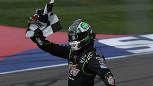 Kyle Busch victorious in wild finish