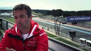 Sébastien Loeb presents the Circuit Paul Ricard - Citroën WTCC 2014
