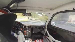 VLN02 Onboard Falken Porsche Start