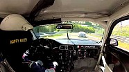 VLN #4: #91 Porsche 911 GT3 Cup crashes, onboard video