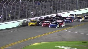 Nationwide race ends in photo finish - Daytona 2014