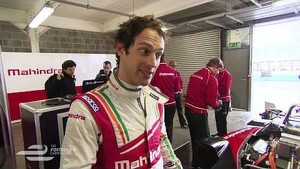 Nicki Shields meets Mahindra Racing's Bruno Senna