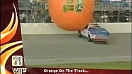Giant Inflatable Orange Takes Flight at Chicagoland