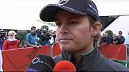 Nico Rosberg blames British fans for booing - 2014 Belgian GP