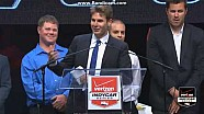 Will Power's championship speech goes awry