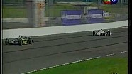 1999 IndyCar (CCWS) at Gateway - Helio Castroneves and Michael Andretti battle