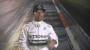 Japanese GP: Lewis Hamilton in the F1 Simulator