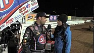 World of Outlaws STP Sprint Car Series Victory Lane from the 2014 National Open