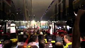 Cell Phone Vid: Brawl in NASCAR garage