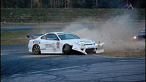 Attempts to drift...gone wrong.