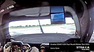 On-board Strakka DOME S103 at Paul Ricard Winter Test 2014