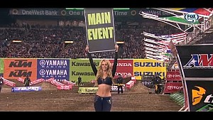 2015 AMA Supercross Rd 1 Anaheim 1 - 450 Main Event Full