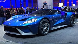 2017 Ford GT - 2015 Detroit Auto Show - Fast Lane Daily