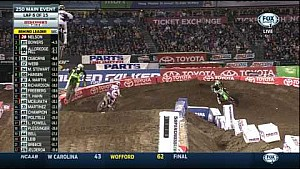 2015 AMA Supercross Rd 3 Anaheim 2 - 250 Main Event in HD
