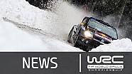 Rally de Suecia 2015: Etapas 6 a la 9