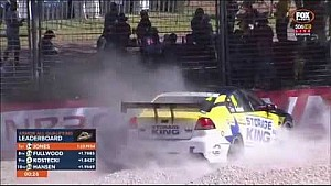 Adam Kostecki crash - V8 Supercars Dunlop Series Qualifying