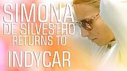 Simona De Silvestro regresa a la IndyCar Series Verizon con Andretti Autosport