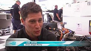 Miami ePrix - Loic Duval pre-race interview