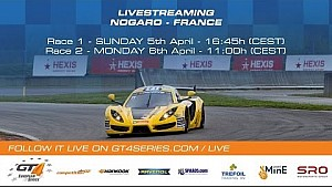 GT4 European Series - Race 2 - Nogaro 2015
