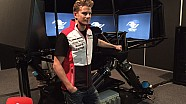 24 Hours of Le Mans in 2015 - Nico Hulkenberg at school