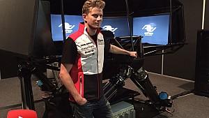 24 Hours of Le Mans in 2015 - Nico Hulkenberg at school