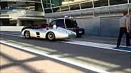 Lewis Hamilton et Stirling Moss à Monza