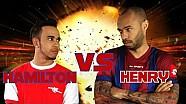 Lewis Hamilton VS Thierry Henry