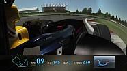 F1 Track Simulator - Mark Webber at Silverstone