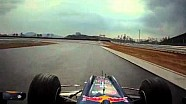 Korean GP circuit first F1 run with Karun Chandhok