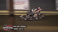 Highlights: World of Outlaws Sprint Cars New Egypt Speedway May 19th, 2015